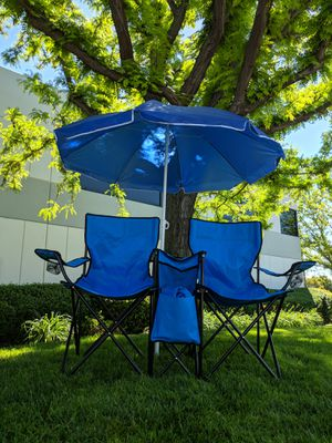 Outdoor Sports Double Portable Beach Picnic Lawn Garden Patio Chairs for Sale in Chino, CA