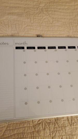 Markerboard Calendar for Sale in Tucson, AZ