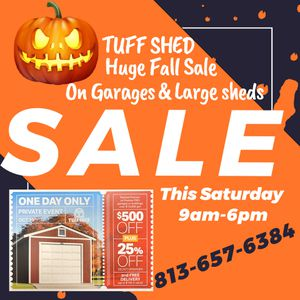 Shed sale for Sale in Tampa, FL