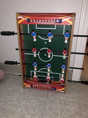 Kids table top foosball table for Sale in Kansas City, KS