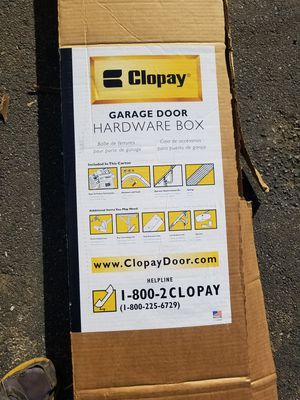 Brand new garage door tracks and hardware for Sale in Warwick, RI
