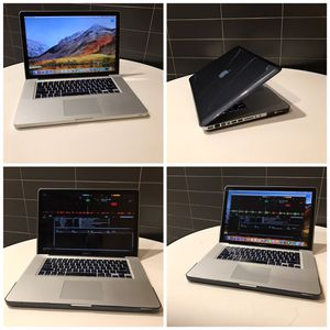 "3TB SSD+HDD, 1TB SSD+2TB HDD, 16GB * Apple Macbook Pro 15* Intel ""4 Cores i7, OS-2017, Powerful with DJ Serato installed, ready for use. for Sale in Queens, NY"