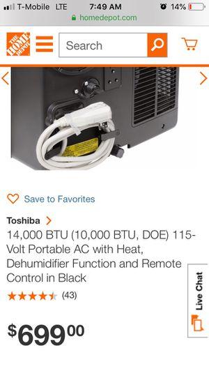 Tobshiba ac for Sale in Dallas, TX