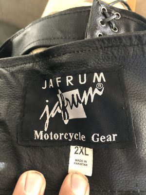 Jafrum motorcycle leather gear for Sale in Belmont, CA
