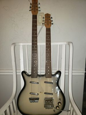 Dan Electro double neck guitar for Sale in Houston, TX
