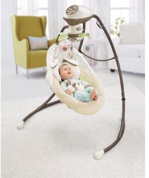 Fisher-Price My Little Snugabunny Cradle 'n Swing for Sale in Washington, DC