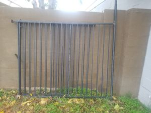 "Three pieces metal fence. 58"" x 39.5"" / 58"" x 35"" / 58"" x 76"" for Sale in Glendale, AZ"