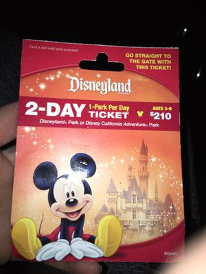 Disney land tix for Sale in Santa Ana, CA
