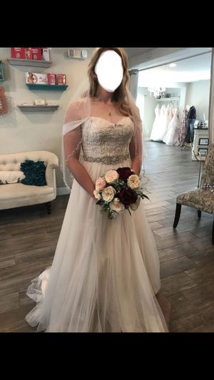BRAND NEW A LINE Wedding Dress for Sale in Winter Haven, FL