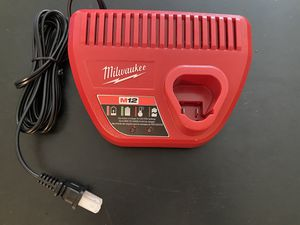 Milwaukee M12 12-Volt Lithium-Ion Battery Charger model 48-59-2401 for Sale in Melbourne, FL