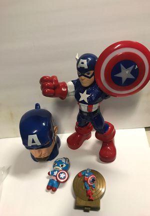 Captain America Action Figure Lot for Sale in Orangevale, CA