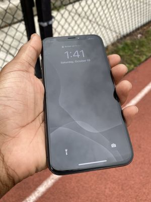 iPhone X - Black 256gb for Sale in Oakland Park, FL