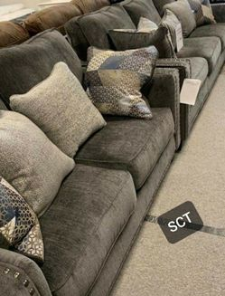 Ashley Smoke Living Room Set ↗️$39Down Payment 100 Days Same As Cash for Sale in Austin,  TX