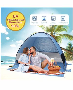 Pop-up beach tent for camping , fishing for Sale in Margate, FL