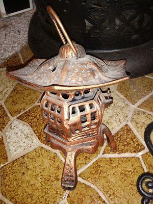 Cast iron candle holder $25 Carol Stream 60188 for Sale in Carol Stream, IL
