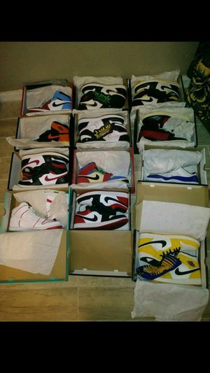 Jordan 1s collection for Sale in Los Angeles, CA