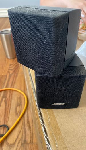 Bose double cube surround sound speakers for Sale in Arvada, CO