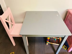Kids table and chair for Sale in Washington, DC