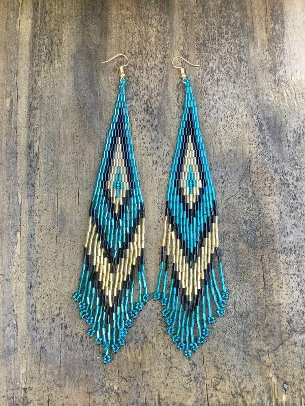 Handmade bohemian earrings I do only ship through OfferUp