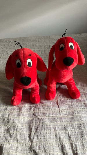Clifford stuffed animals for Sale in Independence, OH
