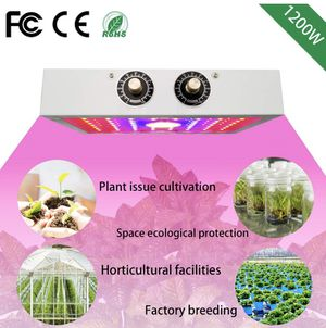 NEW! Plant Growing Lamps, 1200W Double Chips Full Spectrum COB -LED Plant Grow Light with Bloom and Veg Switch for Greenhouse Indoor Hydroponic Plant for Sale in Stuart, FL