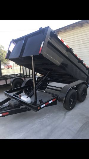 8x10x2 dump trailer $3499 for Sale in Anaheim, CA