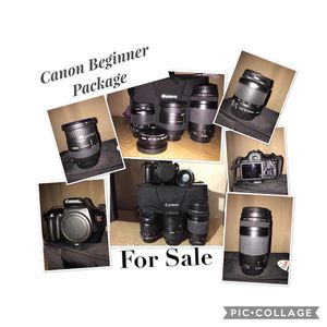FOR SALE CANON BEGINNERS PACKAGE for Sale in Miramar, FL