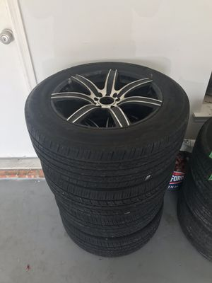 3 Rimes and Tires For Sale for Sale in DeSoto, TX