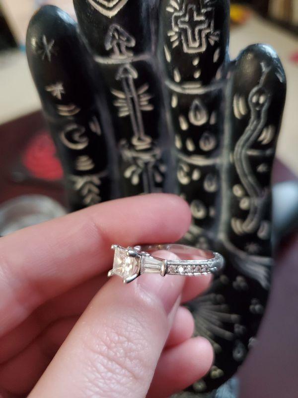 Stunning 1.1+ Carat Scott Kay Platinum Engagement & Wedding Band Set