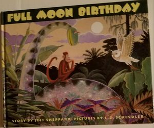 Full moon birthday book for Sale in Ontario, CA