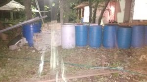 LARGE WATER BARRELS for Sale in Sun City, TX