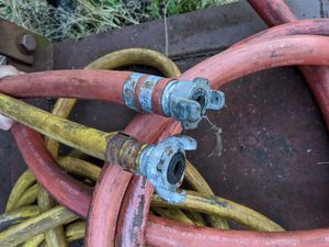 3 - 1 inch air hoses (100 ft total) for Sale in Washougal, WA