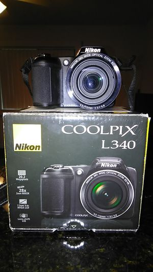 Nikon Coolpix L340 20.2 MP Digital Camera for Sale in Gainesville, FL