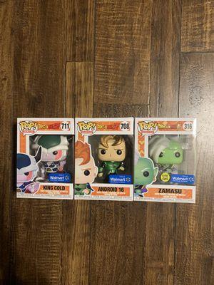 Dragonball z lot Funko Pop for Sale in Rowlett, TX