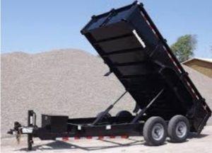14 footer dump trailer for Sale in Houston, TX