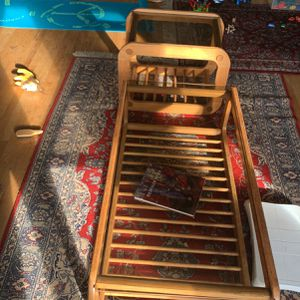 Oak And Glass Coffee And End Table for Sale in SeaTac, WA