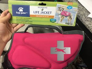 Top paw dog life jacket for Sale in Concord, CA