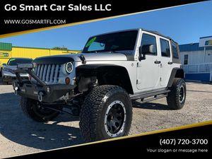 2012 Jeep Wrangler Unlimited for Sale in Winter Garden, FL