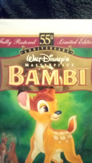 Bambi Vhs for Sale in Dallas, TX