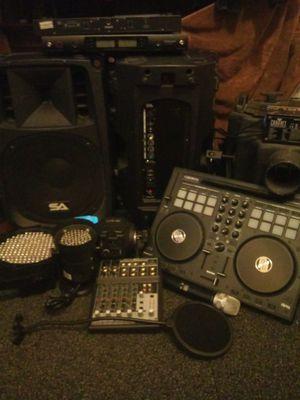 Professional DJ setup trade or resonable offer for Sale in Salt Lake City, UT