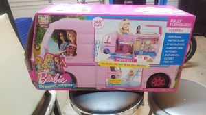 Barbie camper new without accessories only the camper included for Sale in Cypress, TX