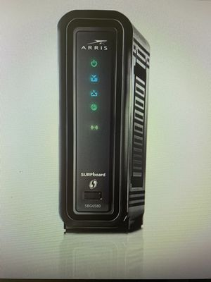 Arris Surfboard SBG6580 Docsis 3.0 Cable Modem & Wi-Fi N300 Router for Sale in Franklin, TN