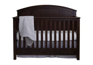 Baby crib - Baby Cache' Espresso Convertible crib and changing table for Sale in Fort Worth, TX