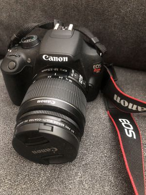 Canon EOS Rebel T5/1200d DSLR Camera with EF-S 18-55mm Lens with accesories for Sale in Washington, DC