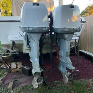 (2) Johnson (200) 2 cycle for Sale in Hollywood, FL