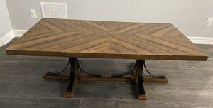 Pier 1 Magnolia Home Iron Trestle Shop Coffee Table for Sale in Orlando, FL