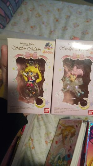 Sailor moon and Chibiusa keychains for Sale in Tacoma, WA