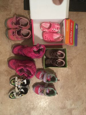 Kids shoes and snow boot for Sale in Upper Arlington, OH