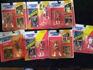 Starting lineup basketball memorabilia for Sale in Atlanta, GA