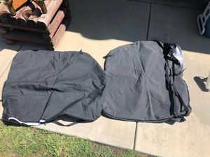 Jeep wrangler front 2 piece roof protective cases. for Sale in Azusa, CA